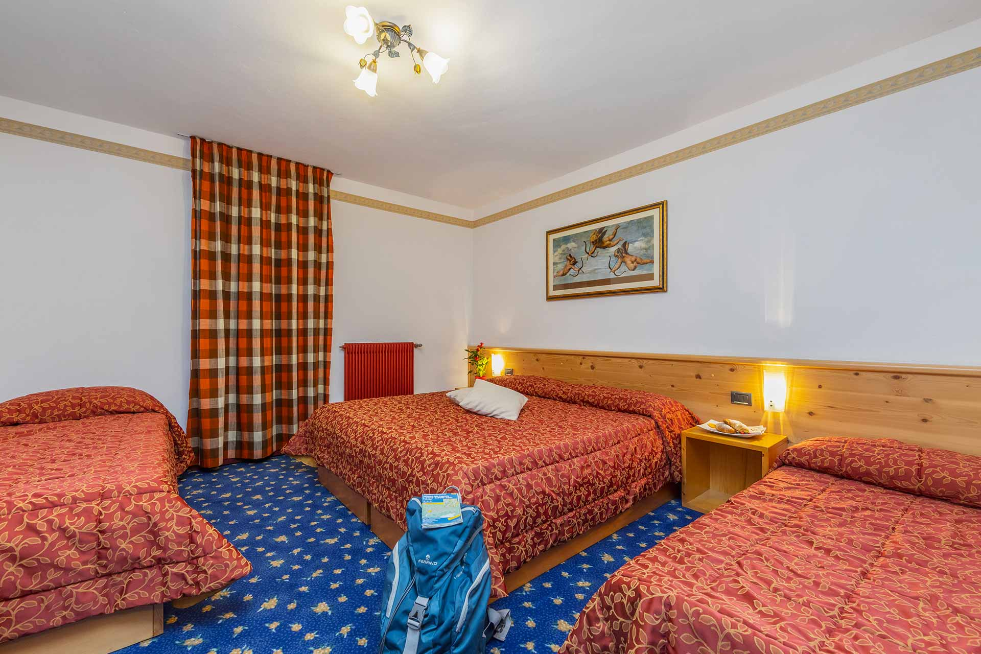 Hotel Tre Stelle Miravalle le camere
