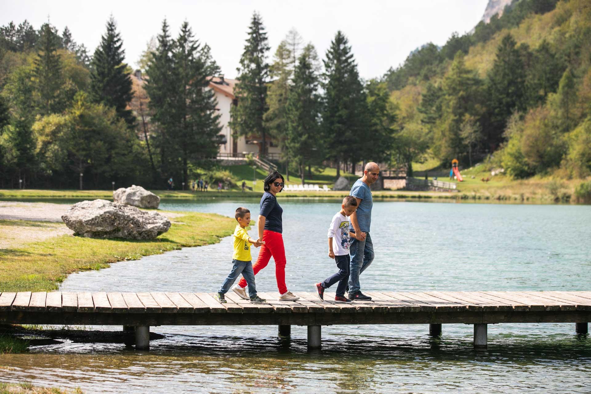 September in den Dolomiten: KINDER FREI