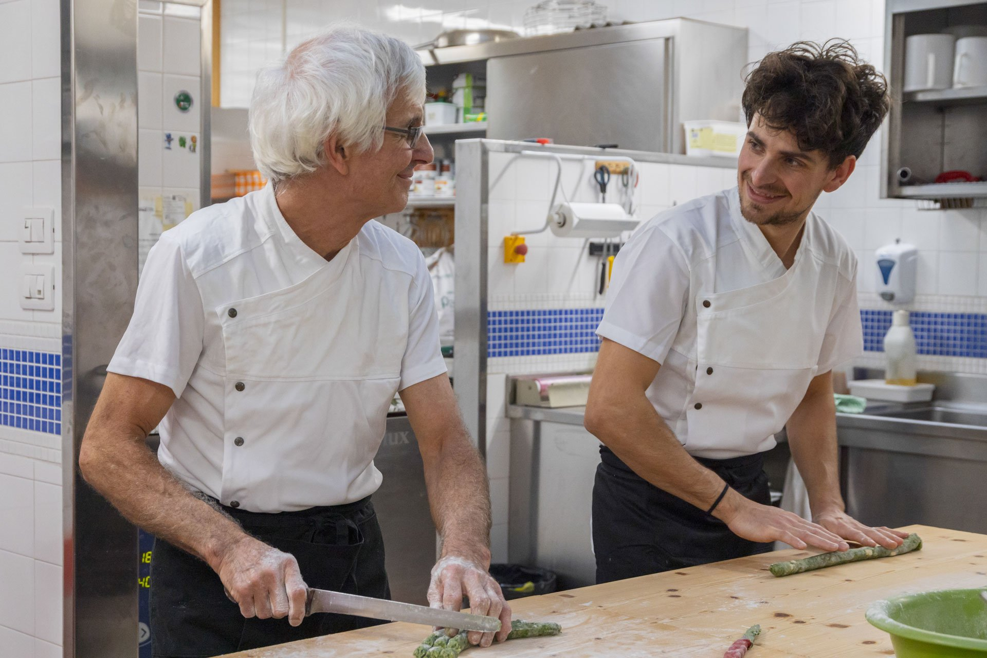 Gli chef dell'Hotel Miravalle